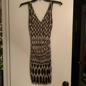 NWT Nicole Miller black and white cocktail dress